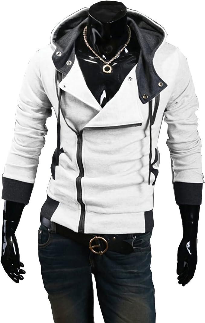 Voltage sponsor cocaine  Felpa uomo mod. Revenge con zip laterale e cappuccio varie taglie. MWS  (BIANCO, XL): Amazon.it: Abbigliamento