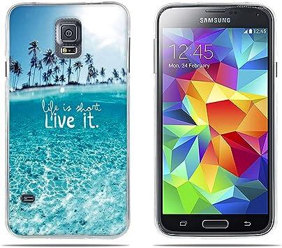 DIKAS Funda para Samsung Galaxy S5, Carcasas para Samsung Galaxy ...