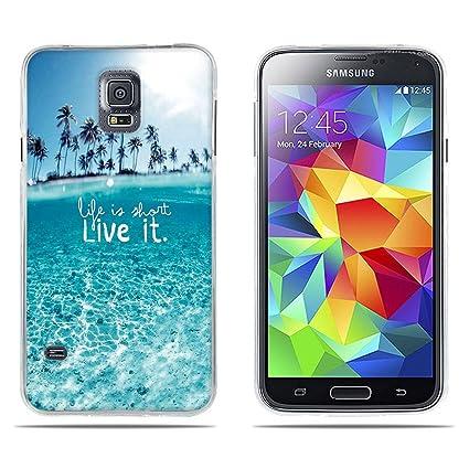 DIKAS Funda Samsung Galaxy S5, Carcasas Samsung Galaxy SV ...