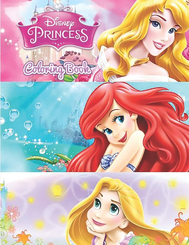 - Disney Princess Colouring Book Children's Books Brand New