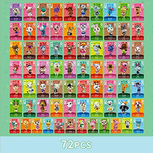 Nfc Tag Game Cards For Animal Crossing New Horizons Game Rare Villager Amiibo Cards Of The