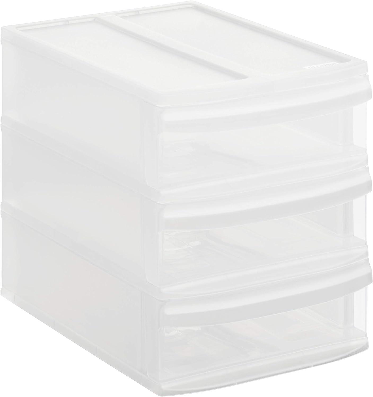 Rotho Systemix 1146096096 - Cajón archivador de plástico, tamaño S (26,5 x 19,2 x 23,3 cm)