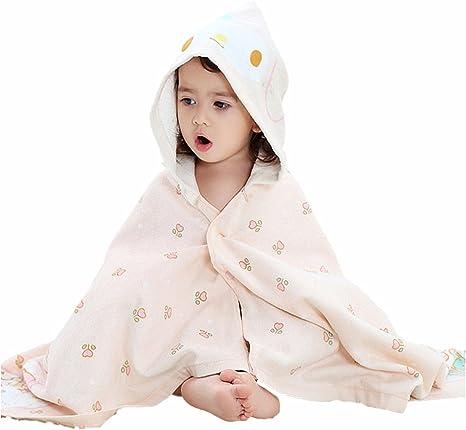 Toalla con capucha para bebés, Chickwin Manta de algodón Toallita de lujo Cómodas y largas Toallas de baño para recién nacidos Infantes Niños pequeños Niños y niñas (Beige): Amazon.es: Bebé