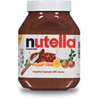 Nutella Chocolate Hazelnut Spread, Perfect Christmas Stocking Stuffer and Topping for Holiday Treats, 35.2 Oz Jar