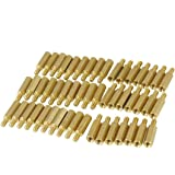 25mm Body Length 20 Pcs Screw PCB Stand-off Spacer Hex M3 Male x M3 Female