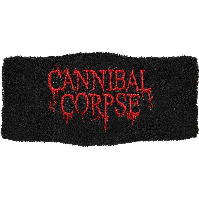 Cannibal Corpse Men s Logo Athletic Wristband Black  Amazon.ca  Clothing    Accessories c830de70b