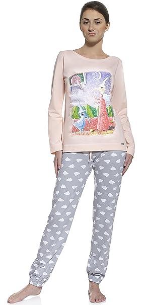 Cornette Pijama para niñas Adolescentes CR 987 01 (Rosa, 164/S)
