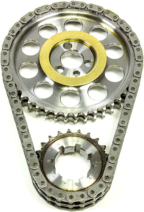 Rollmaster CS1000 Timing Chain Set Double Roller Small Block Chevy w// Shim SBC