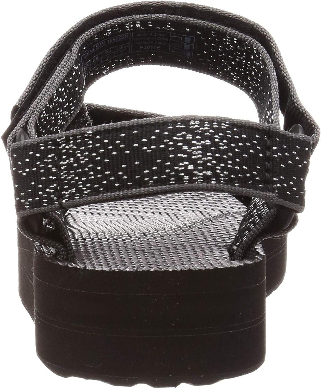 Teva W Midform - Sandali universali con zeppa Costellazione Nera