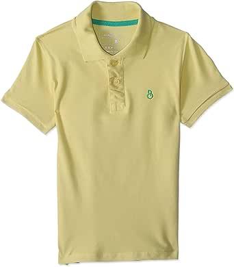 قميص بولو قطن بيكيه بقصة عادية واكمام قصيرة ولوجو امامي للاولاد من بيلا كوتون BCS562