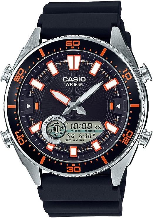 Casio Men's Ana Digi AMW720 1AV Silver Resin Japanese Quartz Fashion Watch