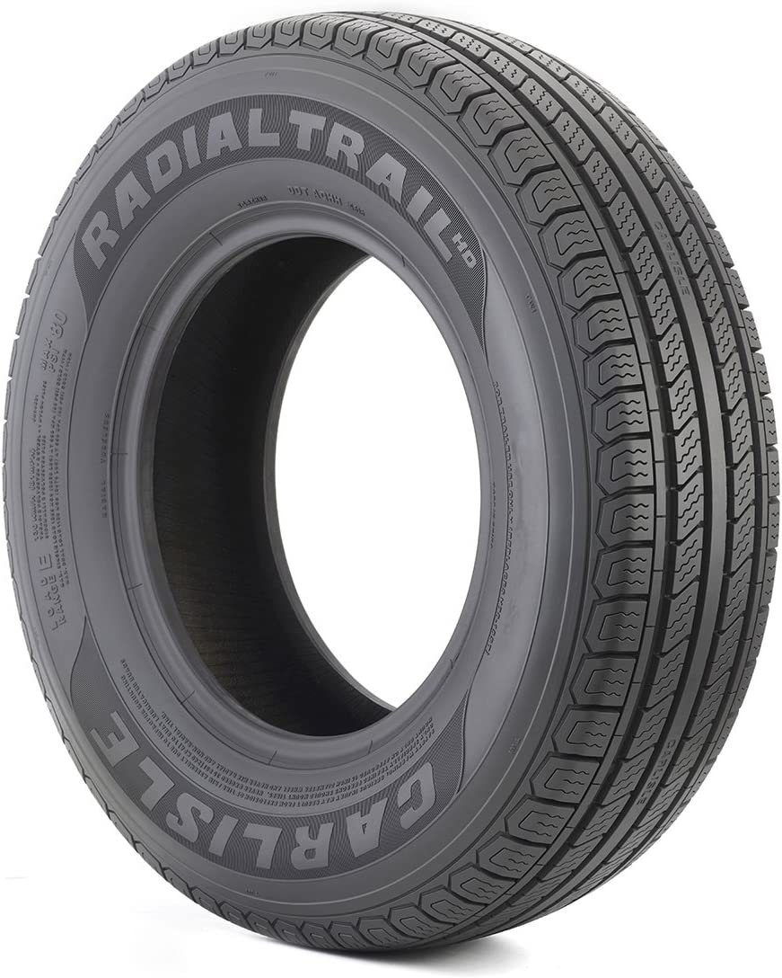 Carlisle Radial Trail HD Trailer Tire-ST235/80R16 124L 10-ply, Model:6H04631