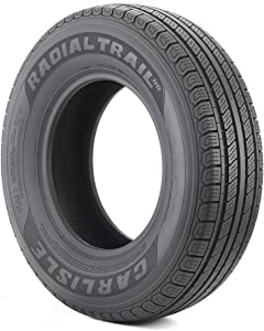 Carlisle Radial Trail HD Trailer Radial Tire - 225/75R15 113M (MAX PSI:65)
