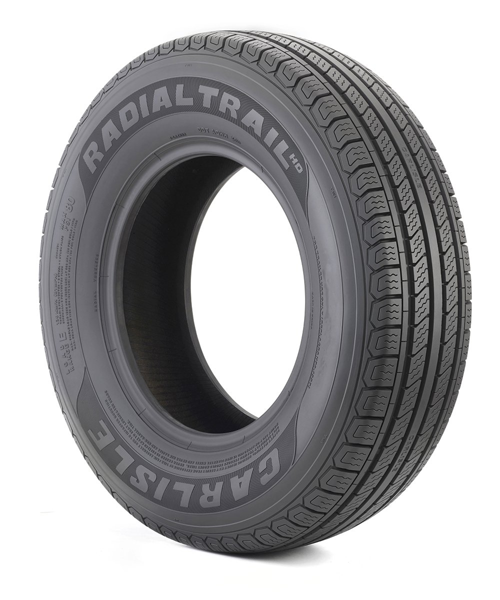 Carlisle 6H04601 Radial Trail HD Trailer Tire - 225/75R15 107M Carlstar Group