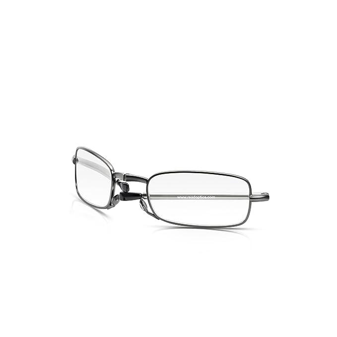 LEORX-Occhiali da lettura pieghevoli, Anti affaticamento Vision Eyewear 1,50 trasparente, con custodia protettiva