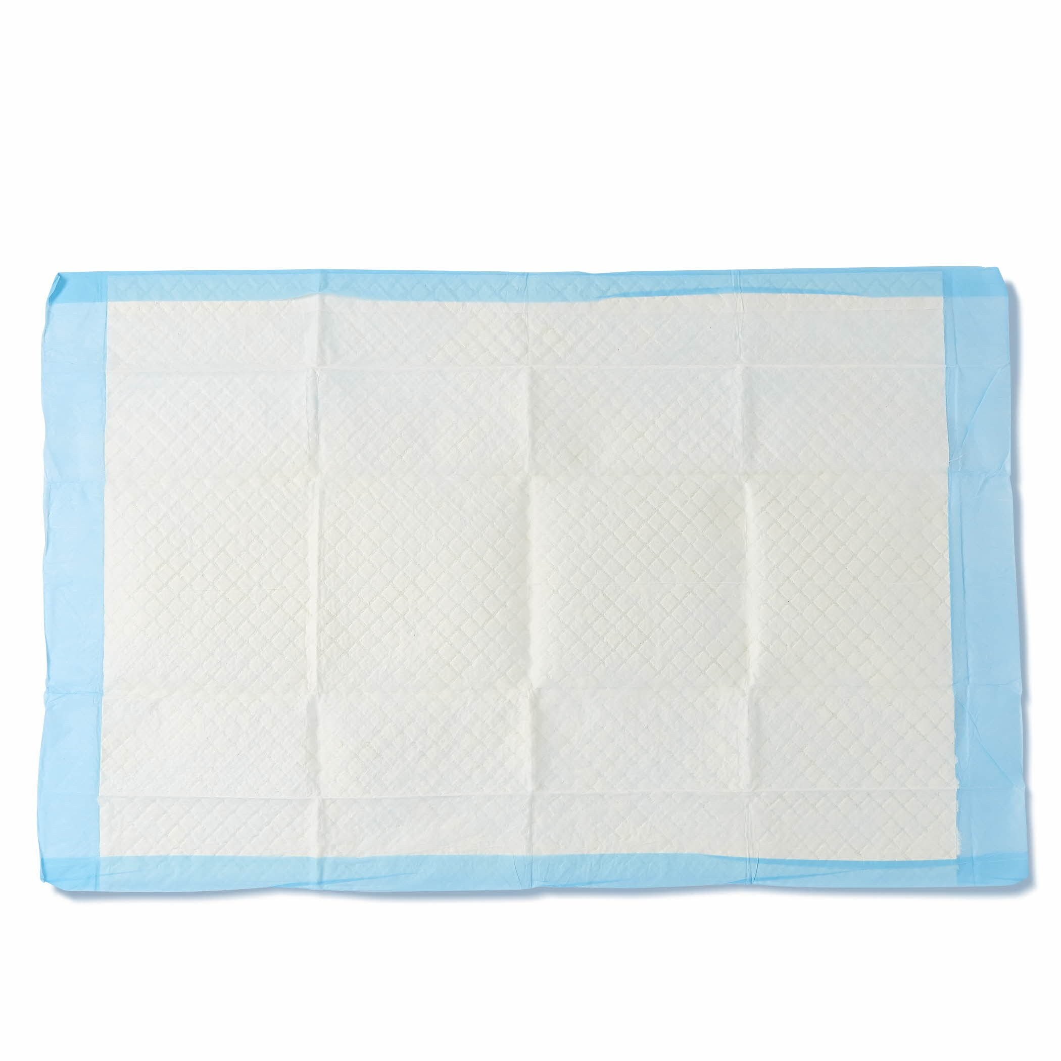 Medline Moderate Absorbency Disposable Quilted Fluff Underpads, 23 x 36 inches, 150 count (25 underpads per bag) - MSC281264, Blue by Medline