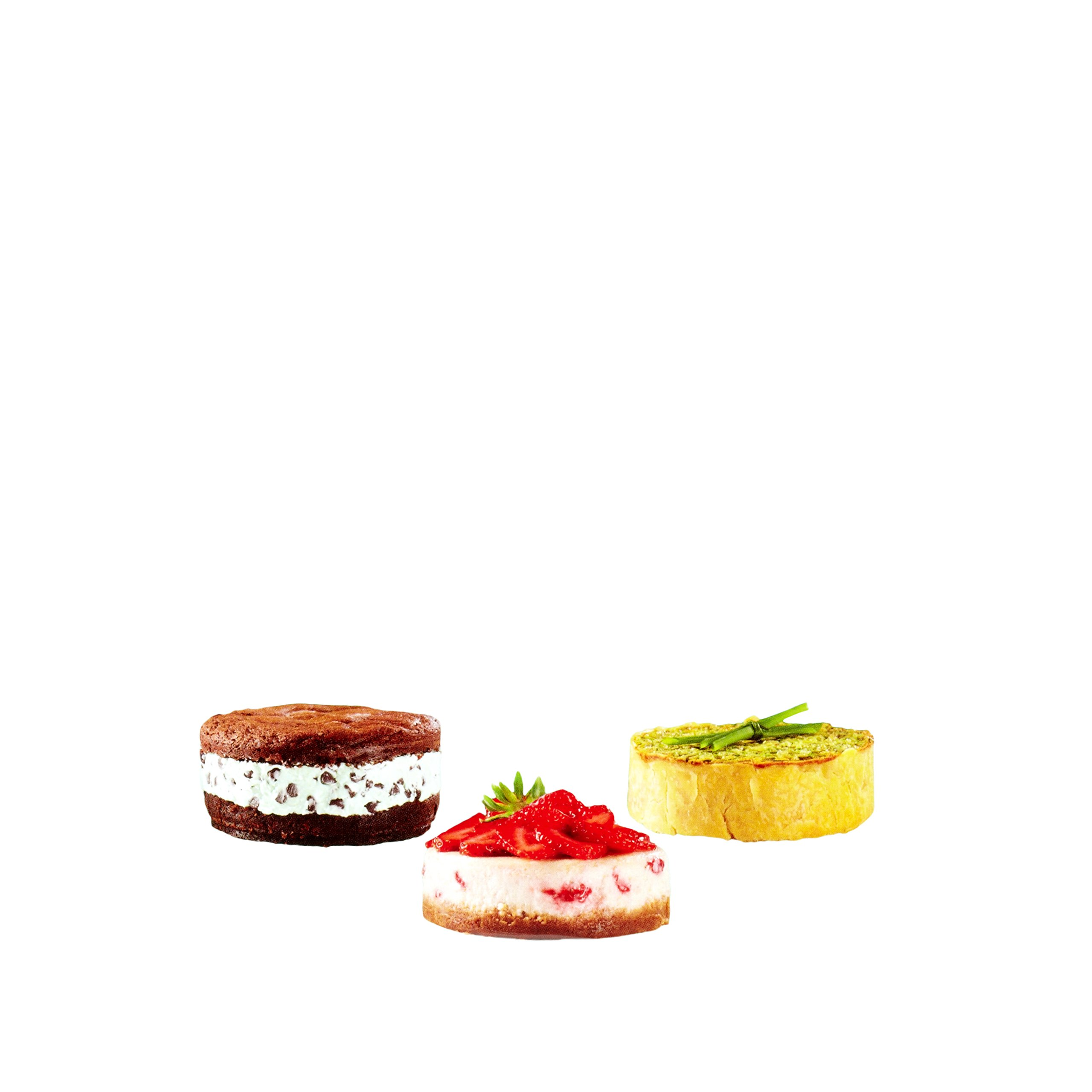 Wilton 4-Inch Mini Springform Pans Set, 3-Piece for Mini Cheesecakes, Pizzas and Quiches by Wilton (Image #7)