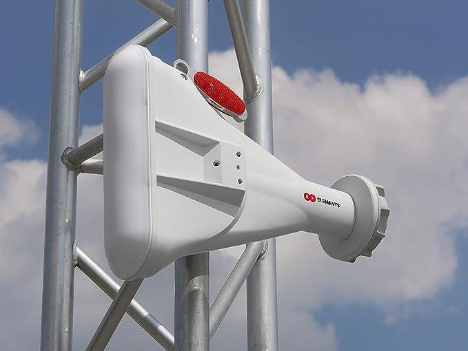 RF Elements - Antena de bocina asimétrica de 5 GHz y 60 ...