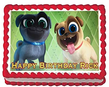 Puppy Dog Pals Edible Cake Topper Image Decoration Frosting 1 4 Sheet