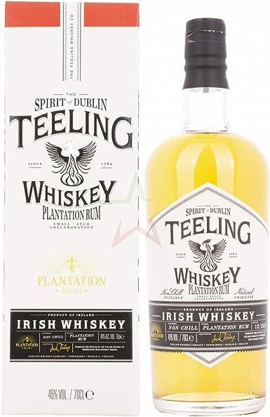 Teeling Whiskey PLANTATION RUM Small Batch Collaboration ...