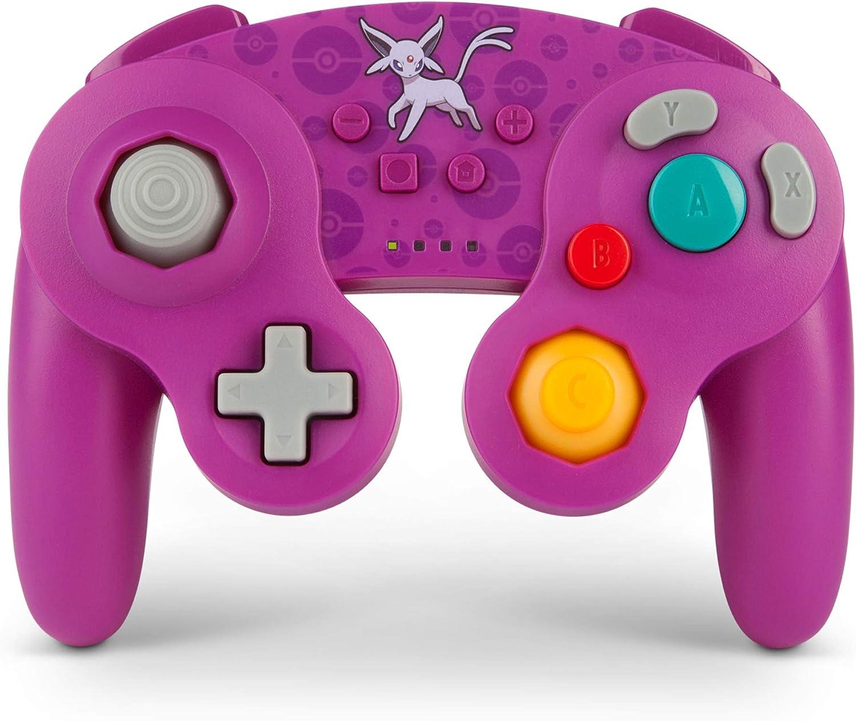 Controlador inalámbrico mejorado PowerA para Nintendo Switch/GameCube - Pikachu: Amazon.es: Videojuegos