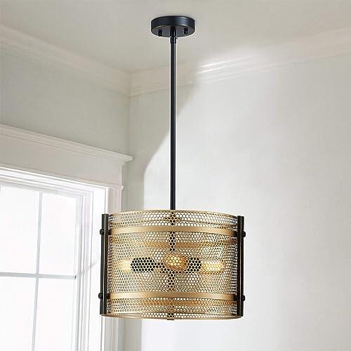 Saint Mossi 3-Light Industrial Chandelier Ceiling Light Fixture,Metal Hanging Pendant Light Fixture