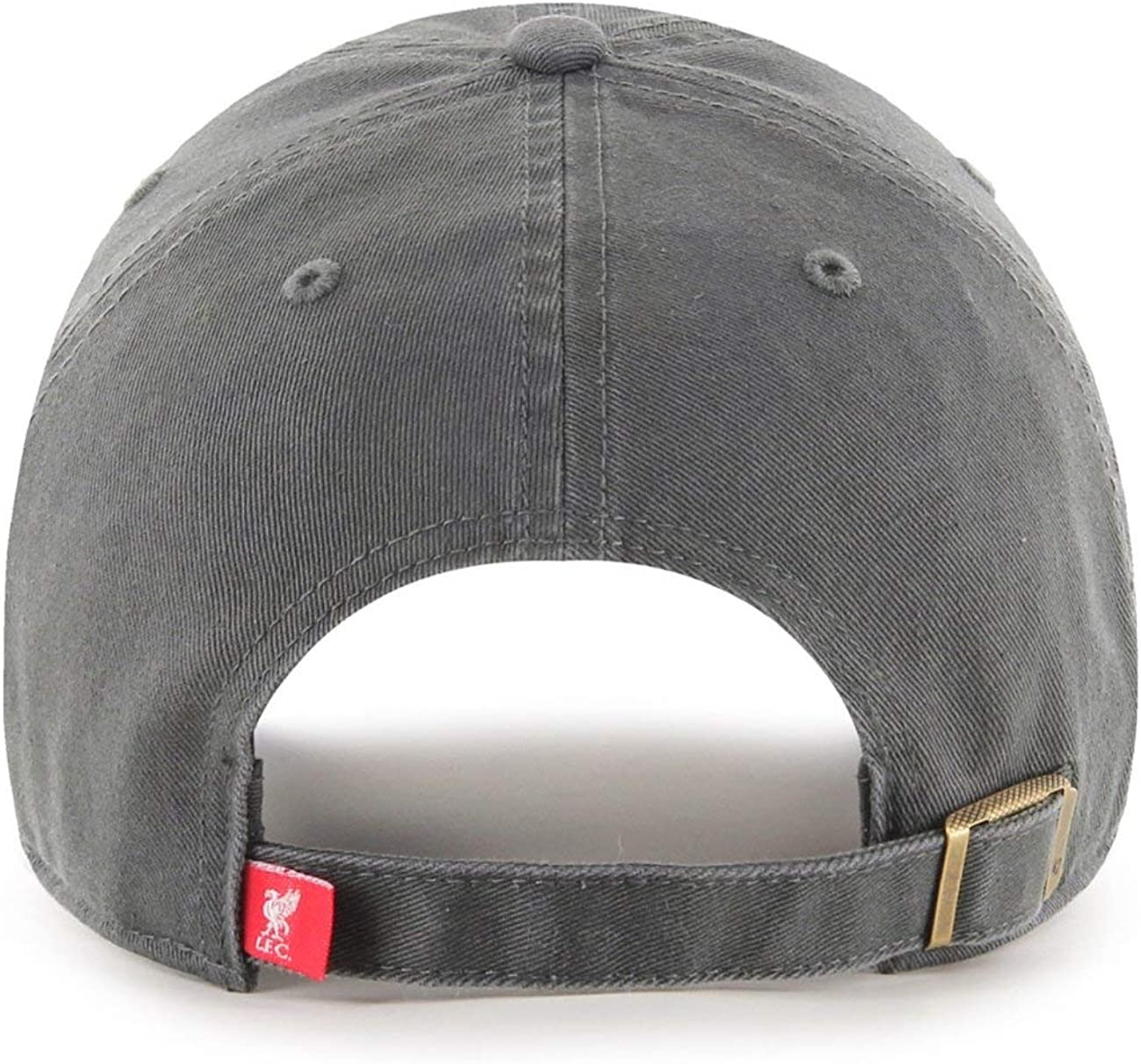 FC Liverpool Retro Logo Charcoal 47 Brand Relaxed Fit Cap