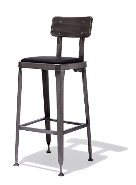 Pleasing Amazon Com Industry West Octane Bar Stool Kitchen Dining Alphanode Cool Chair Designs And Ideas Alphanodeonline