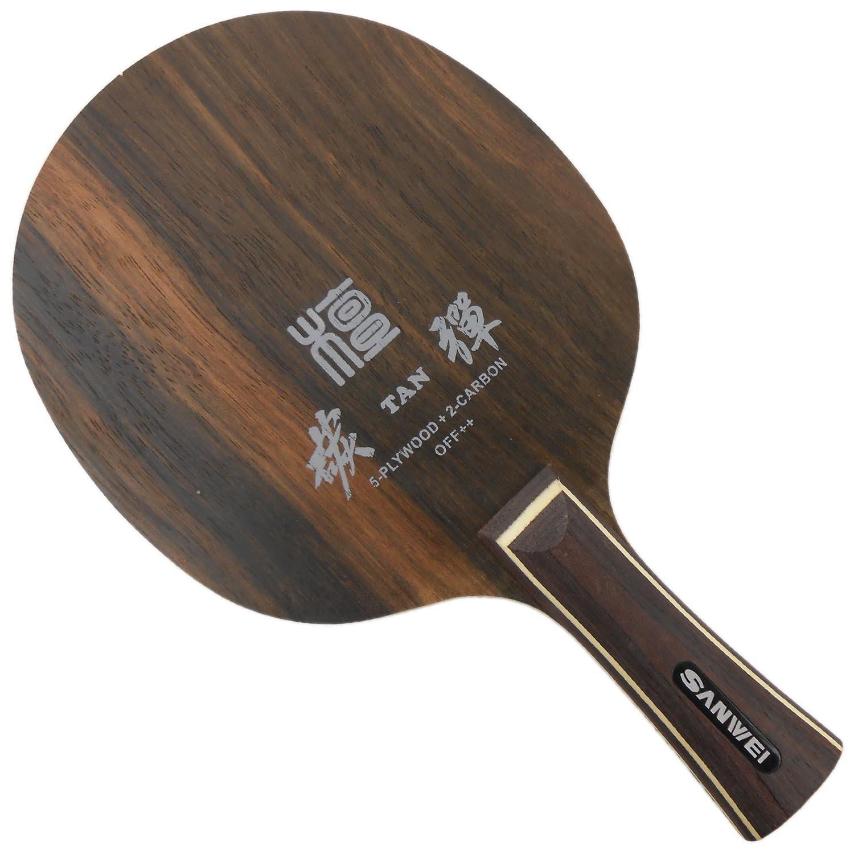 SanweiエボニーSeven h7 FL Table Tennisブレード   B00ORIN3GO