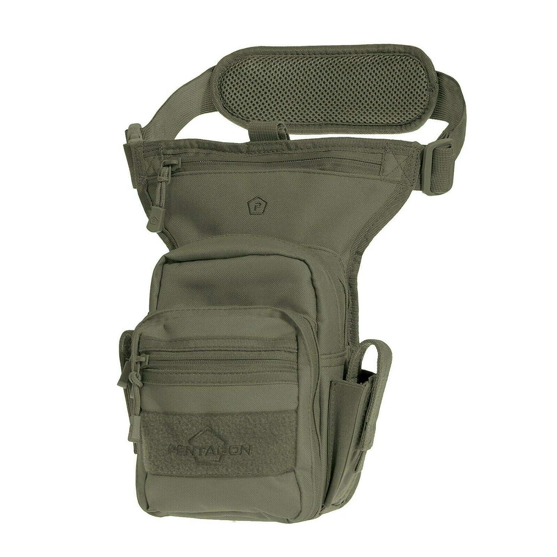 Pentagon Max-S 2.0 Pistola Muslo Bolsa Verde Oliva