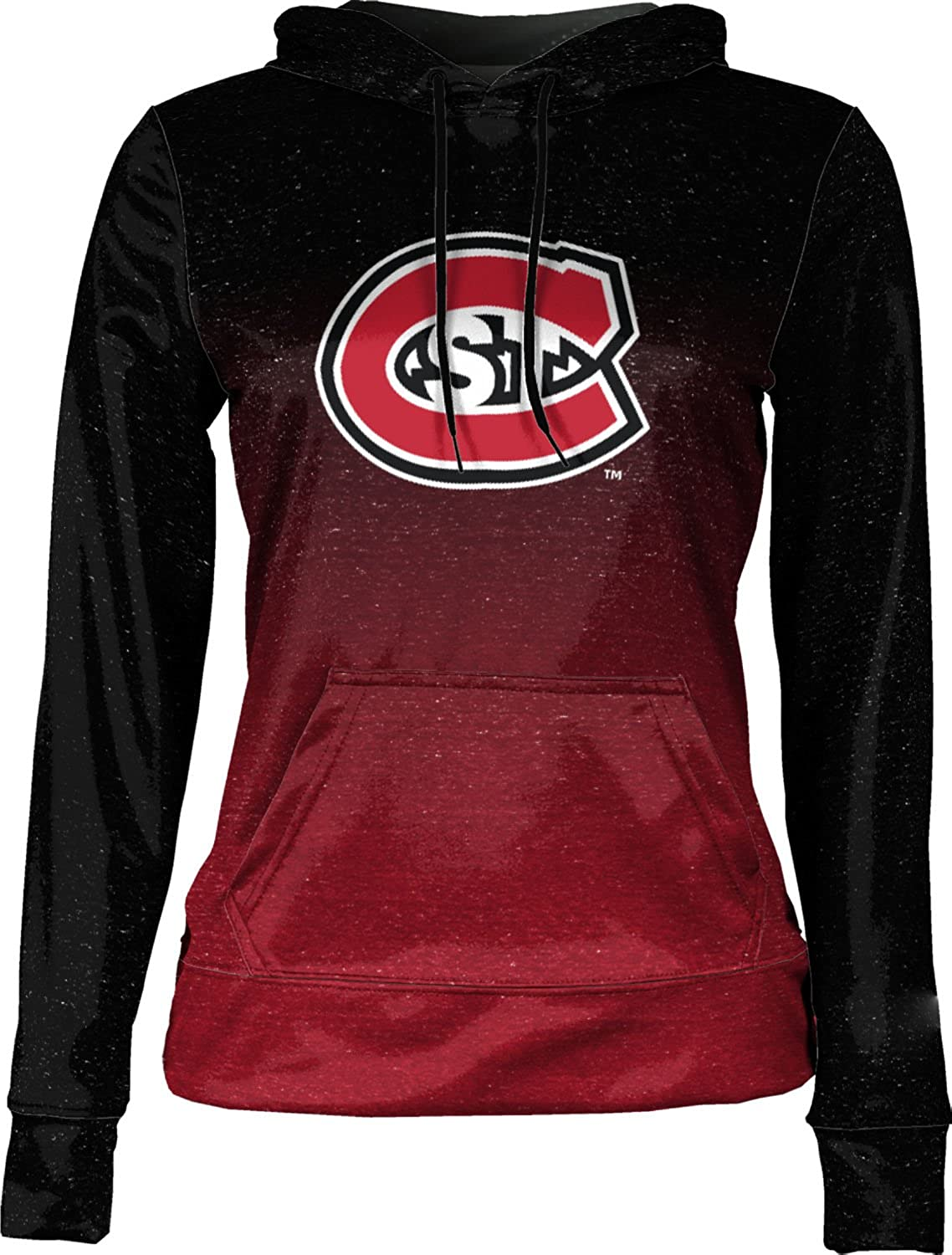 Ombre St School Spirit Sweatshirt Cloud State University Womens Pullover Hoodie