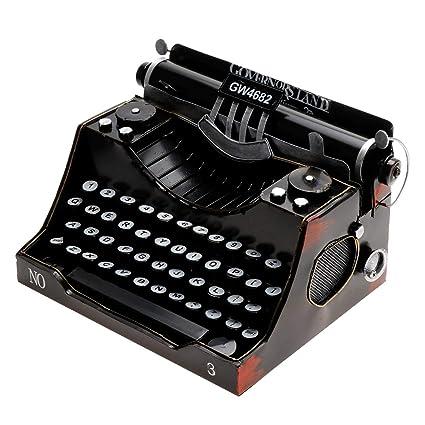 retro literatura Decoración de la vendimia modelo de máquina de escribir metal y el estilo del