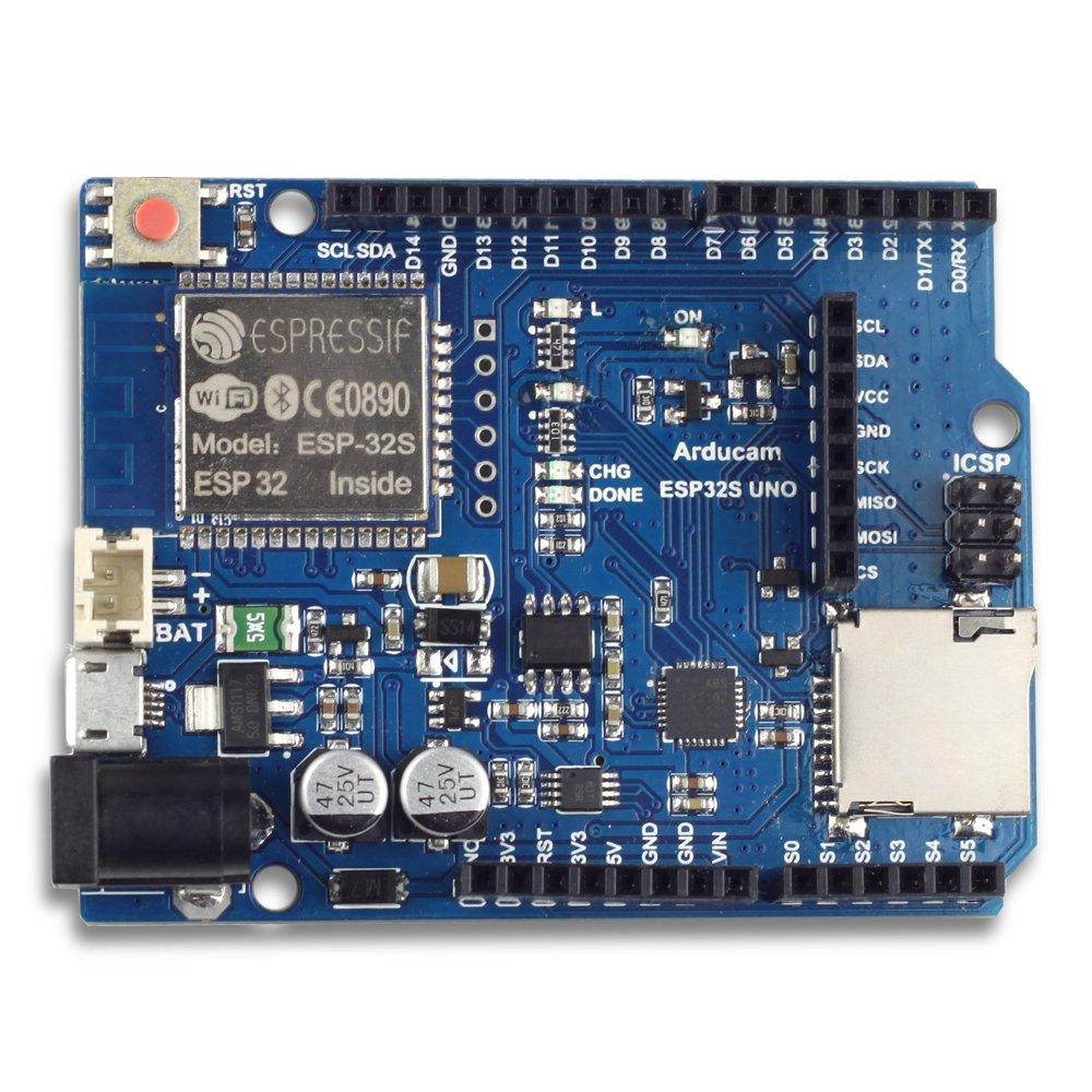 Arducam ESP32 UNO Board for Arducam Mini Camera Module Compatible with Arduino UNO R3 by Arducam (Image #1)