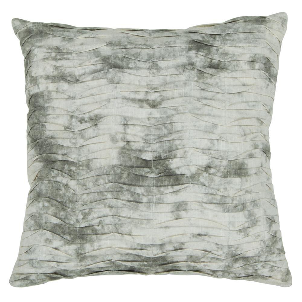 22 Light Grey Chandra Rugs CUS28027-22 Decorative Cotton Pillow