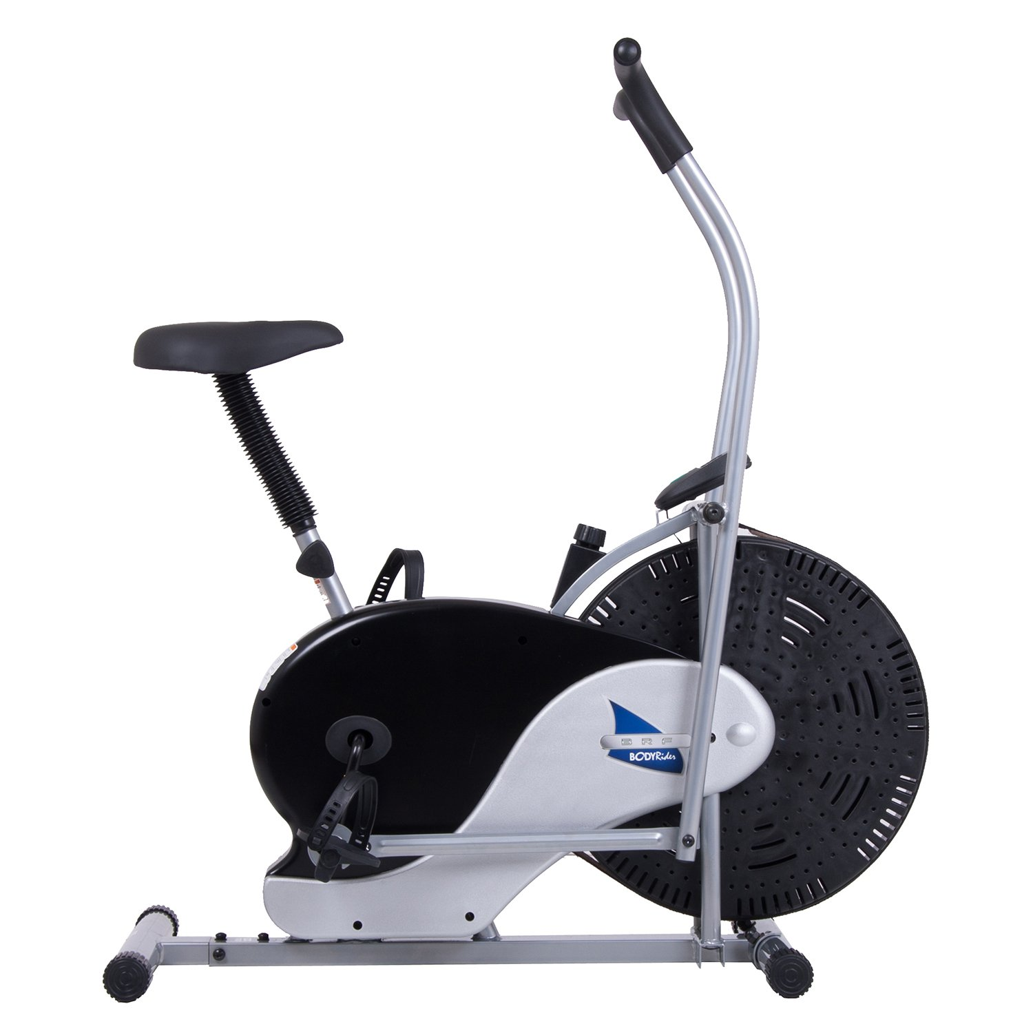 Body Rider Exercise Upright Fan Bike (with UPDATED Softer Seat) Stationary Fitness/Adjustable Seat BRF700 by Body Rider (Image #7)
