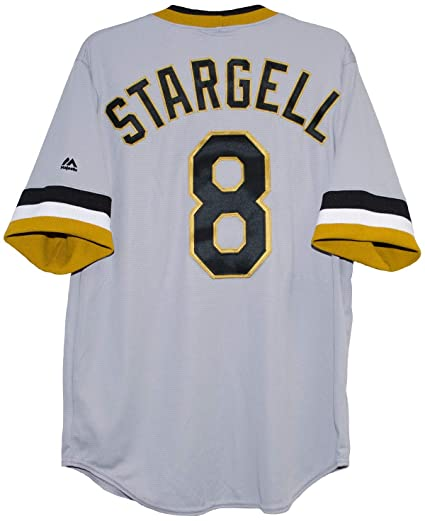 8bad0f45490 Willie Stargell Pittsburgh Pirates Cool Base Men s Replica Jersey (Medium)
