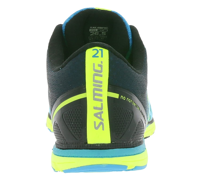 Salming Race Laufschuhe cyan / safety safety / yellow 279afa