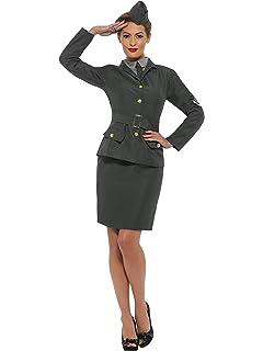 Brand New 1940/'s WW2 Army Warden Lady Adult Costume