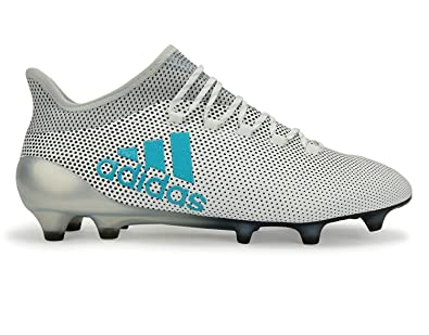 promo code 367bc 2d8fa adidas Men's X 17.1 FG White/Energy Blue/Clear Grey Shoes