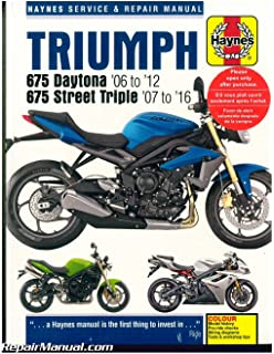 Triumph 675 daytona and street triple service and repair manual h4876 haynes triumph 675 daytona 2006 2012 street triple 2007 2016 motorcycle repair manual fandeluxe Choice Image