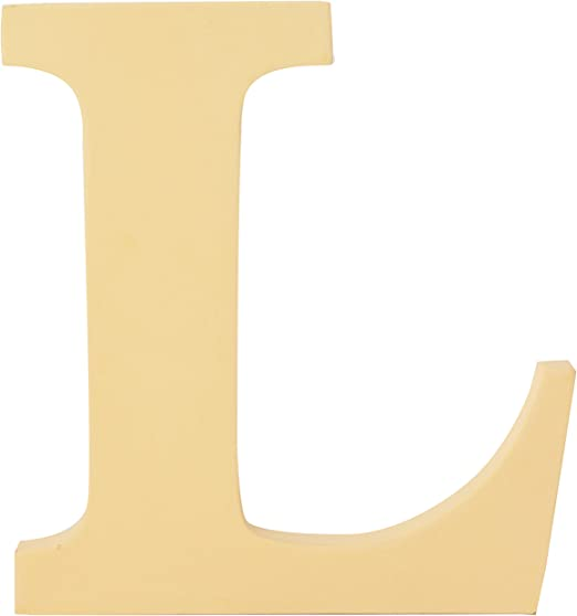 Contemporary Extra Large 20 Cm Wooden Letters Free-Standing Alphabets Name Sign