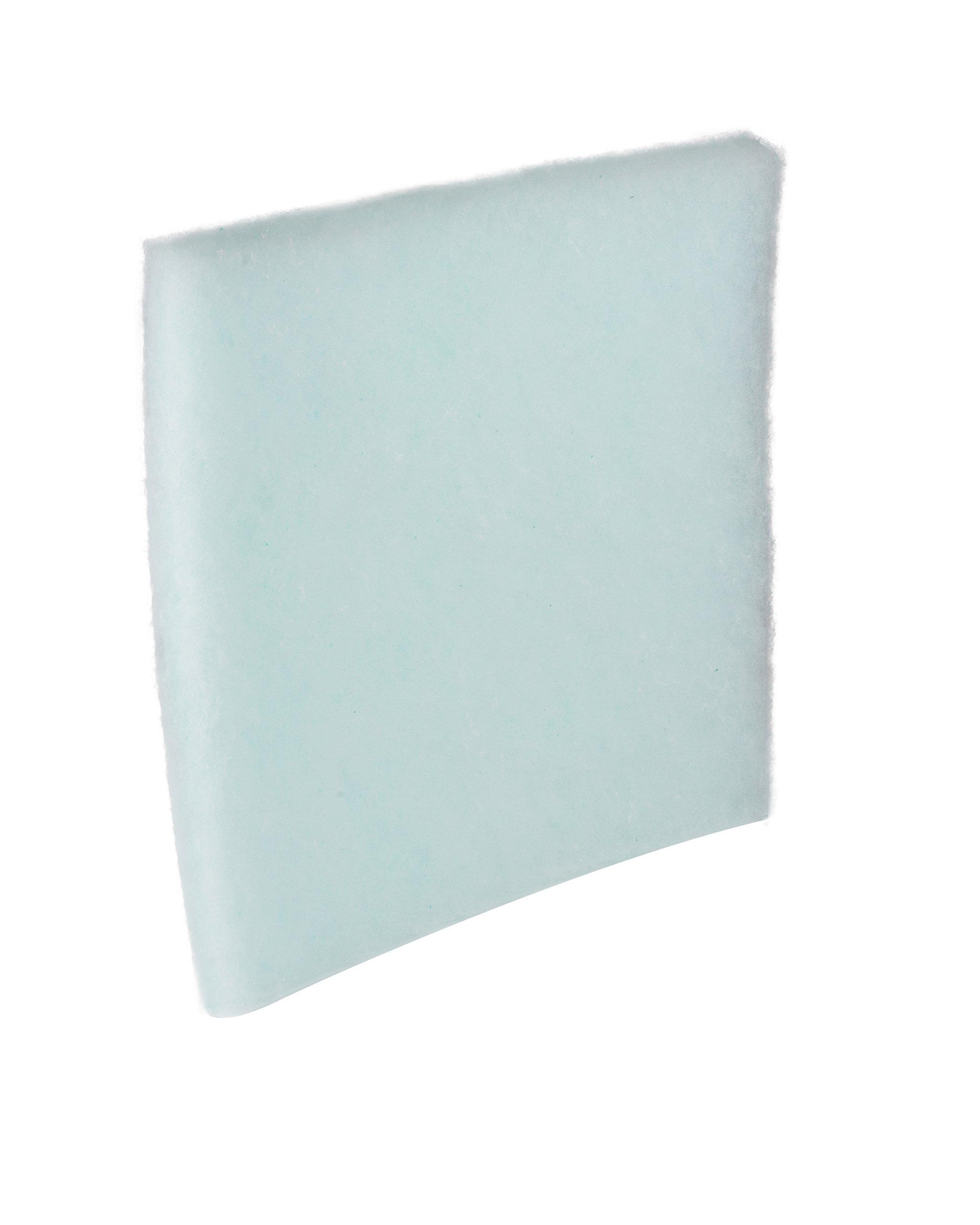 Chemco, 2020BKCLOFT, 20''x20''x2'' Chemloft Polyester Paint Arrestor Pads 25/Case