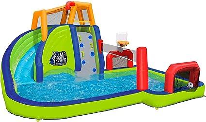 Amazon.com: Parque acuático hinchable de Banzai: Toys ...