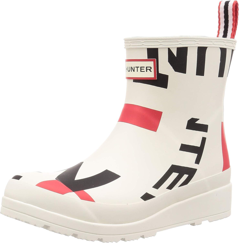Hunter Boot Womens Original Insulated Play Tall Rain Boot Black 6 Medium US
