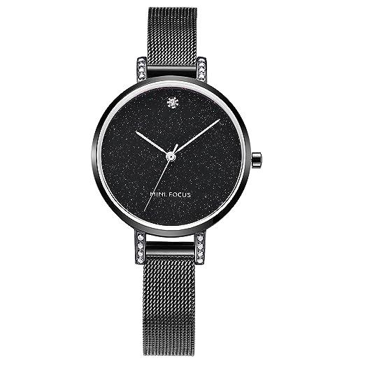 Mini Focus - Reloj de pulsera para mujer, estilo casual, diseño minimalista, reloj