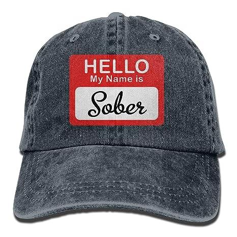 Vidmkeo Hola, mi Nombre es Sober Cowboy Hip-Hop Gorra Trasera ...
