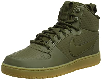 new styles 05cd5 eb5ff Nike Ebernon Mid Winter Chaussures de Basketball Homme, Vert Olive Canvas  300, 41 EU