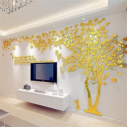 Amazon Wall Stickers Acrylic Couple Tree Living