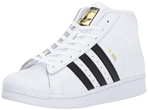 85bff0ebe9e adidas Originals Unisex-Kids Pro Model C Sneaker, FTWR White, Black,  Metallic
