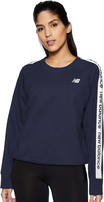 New Balance Women's Nashville-Davidson Selling and selling Mall Relentless Sweatshirt Neck Crew